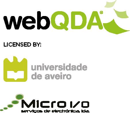 webQDA, Universidade de Aveiro e Micro IO