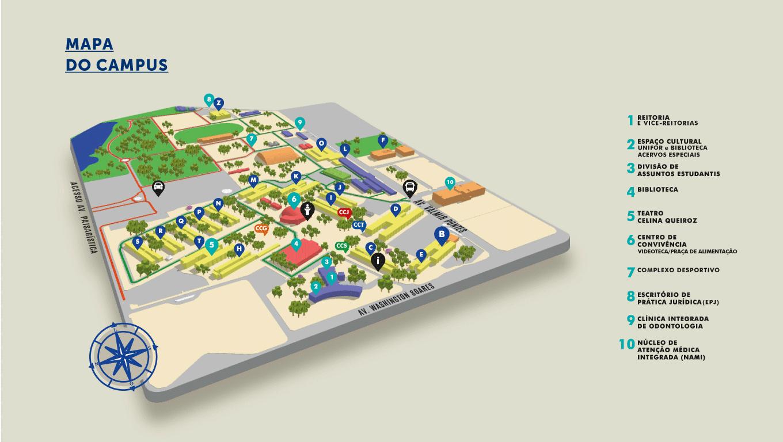 Mapa UNIFOR CIAIQ2018